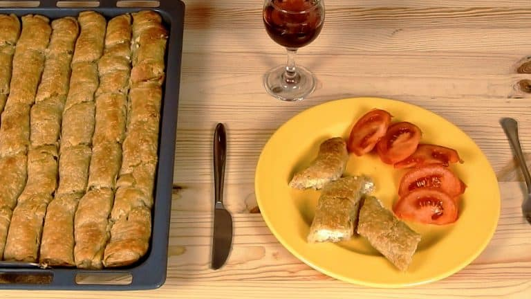 Greek Leek Pie Rolls