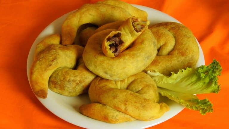 Cypriot Olive Pies with Bacon