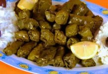stuffed-vine-leaves-with-rice-and-carrot-yalanci-dolma-sarmadakia-dolmadakia