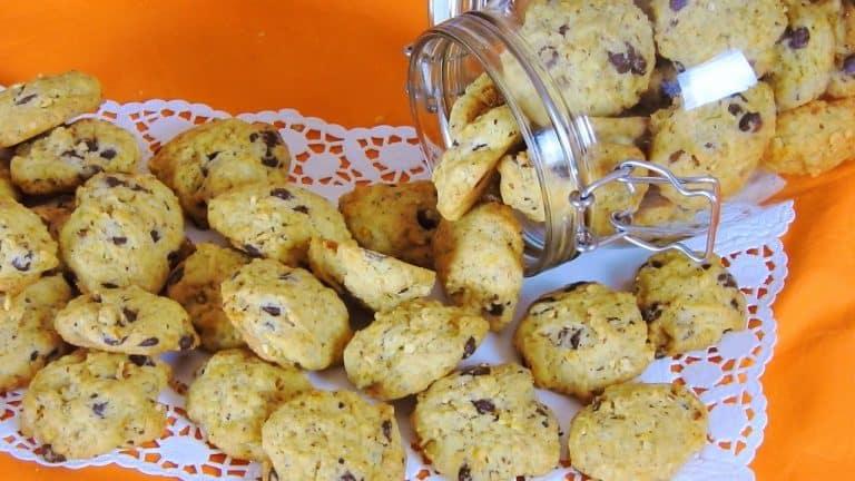 Orange – Hazelnut Cookies with Chocolate Chips