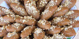 Greek-Traditional-Christmas-Honey-Cookies-Melomakarona