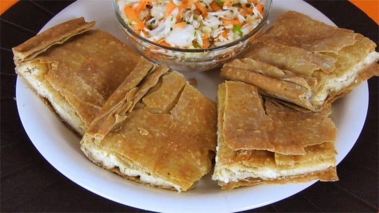 Classic Cheese Pie with Tahini & Whole Wheat Phyllo