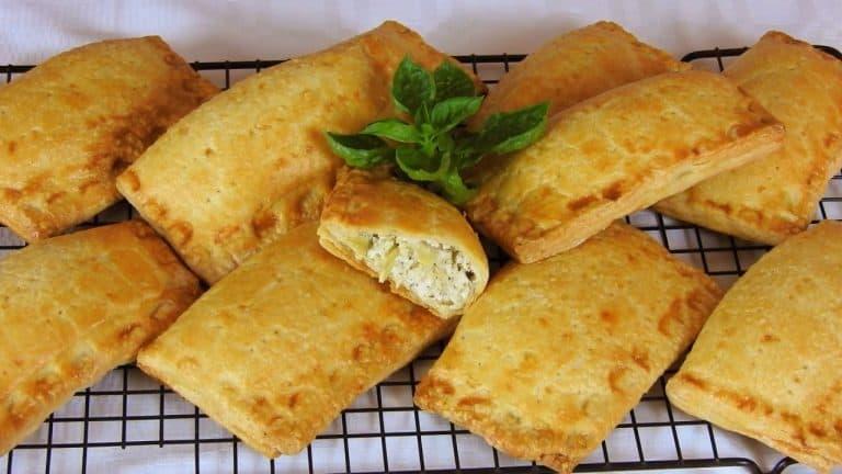 Zucchini Feta & Ricotta Hand Pies with Homemade Kourou Dough