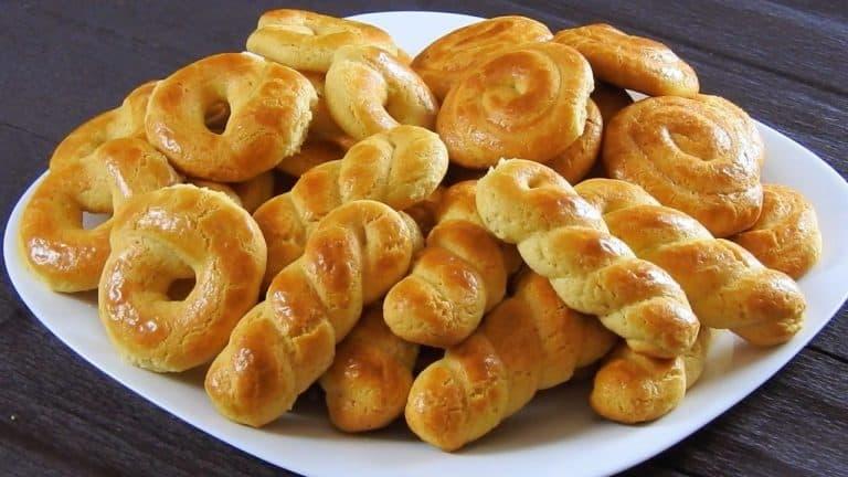 Greek Milk Cookies with Vanilla – Orange Flavor
