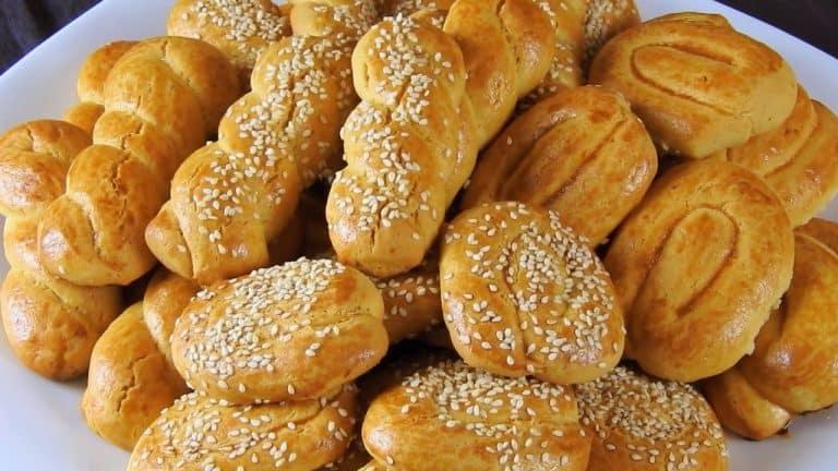 Traditional Greek Easter Cookies