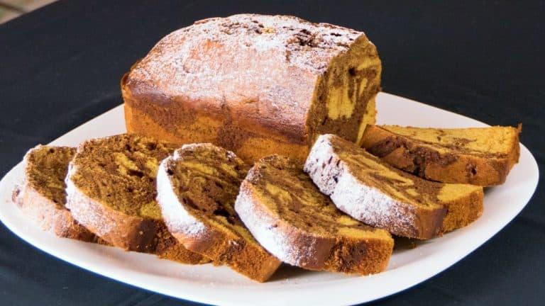 Butternut Squash & Chocolate Marble Cake