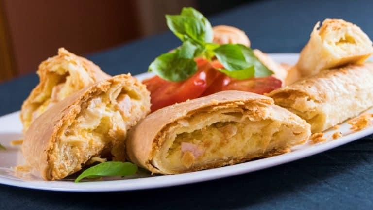 Cheese & Turkey-Ham Potato Pies